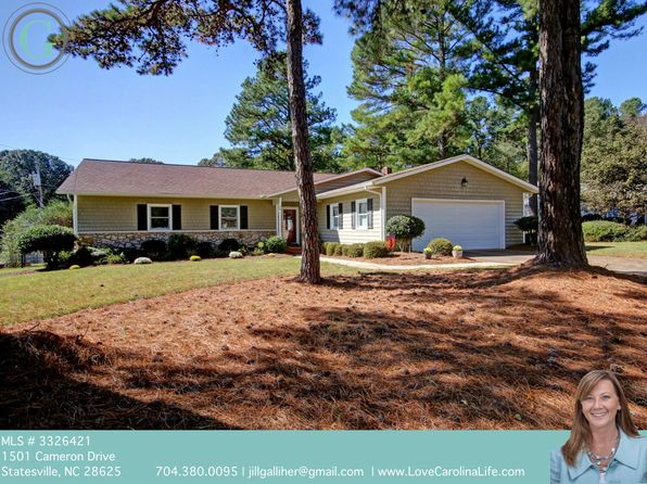 3 bed 2 bath Single Family at 1501 Cameron Dr Statesville, NC, 28625 is for sale at 180k - 1 of 23