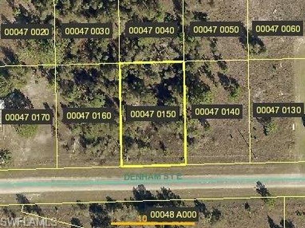null bed null bath Vacant Land at 1245 DENHAM ST LEHIGH ACRES, FL, 33974 is for sale at 4k - google static map