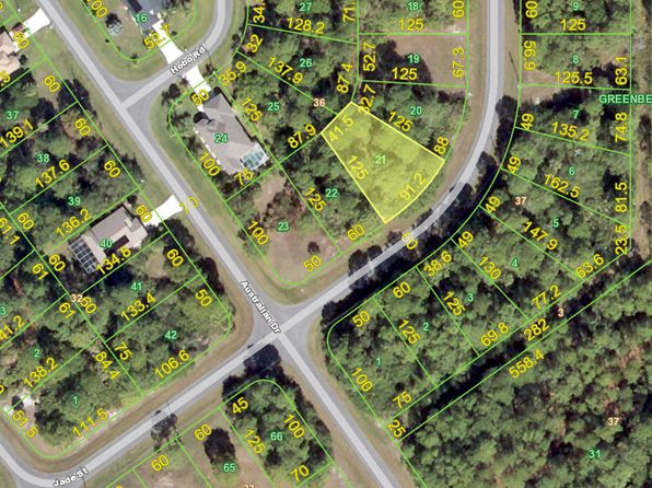 null bed null bath Vacant Land at 164 JADE ST ROTONDA WEST, FL, 33947 is for sale at 16k - google static map