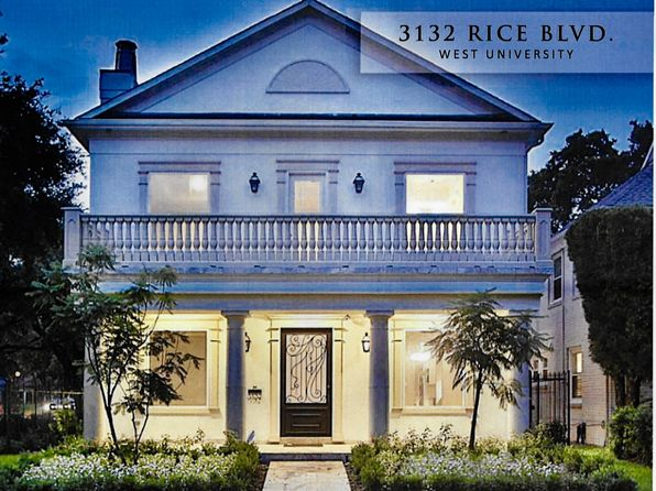 4 bed 4 bath Single Family at 3132 RICE BLVD HOUSTON, TX, 77005 is for sale at 1.95m - 1 of 16