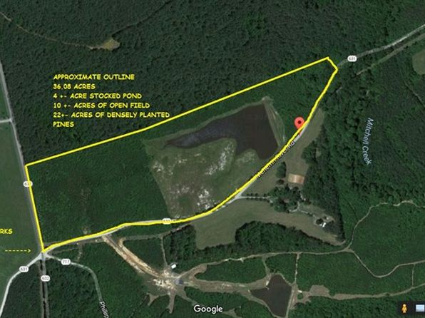 null bed null bath Vacant Land at  Meherrin River Rd Chase City, VA, 23924 is for sale at 100k - 1 of 25