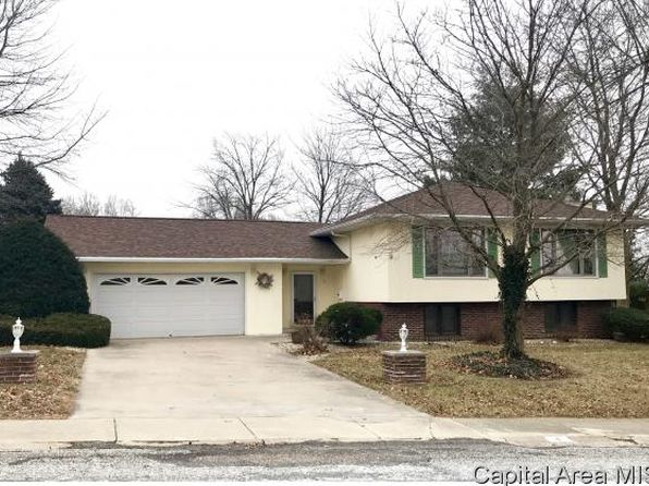 3 bed 2 bath Single Family at 4 Forest Park W Jacksonville, IL, 62650 is for sale at 190k - google static map