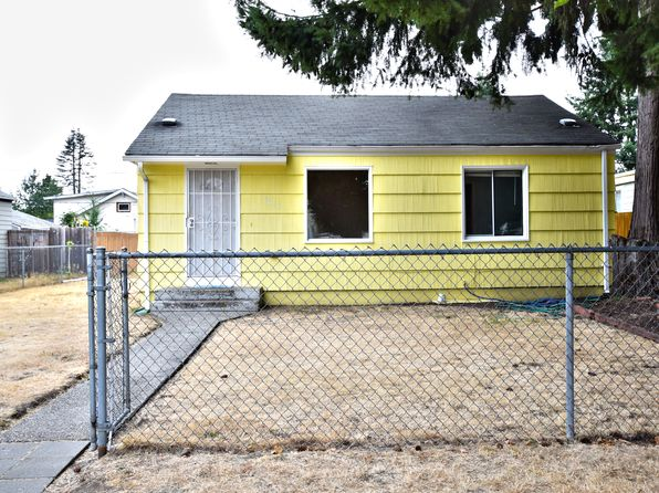 3 bed 1 bath Single Family at 4611 S American Lake Blvd Tacoma, WA, 98409 is for sale at 195k - 1 of 13