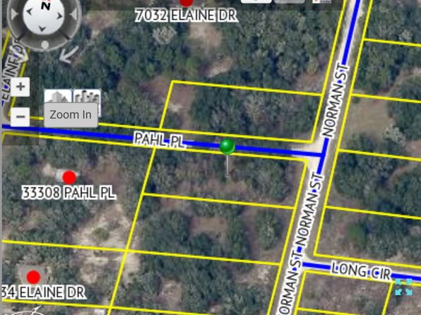 null bed null bath Vacant Land at 6469 NORMAN ST WEBSTER, FL, 33597 is for sale at 14k - google static map