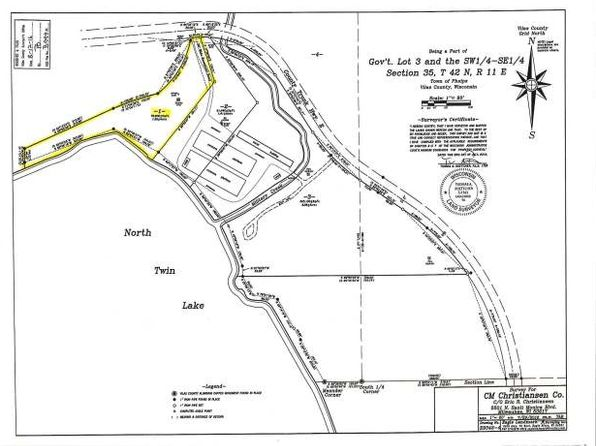 null bed null bath Vacant Land at ON Cth E Parcel Phelps, WI, 54554 is for sale at 125k - google static map