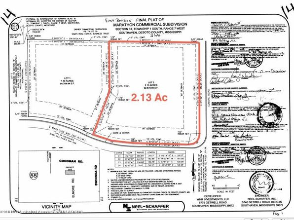 null bed null bath Vacant Land at 6625 Elmore Rd Southaven, MS, 38671 is for sale at 380k - google static map