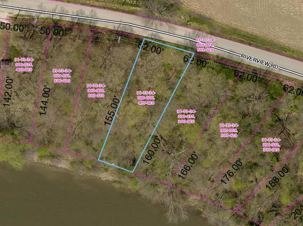 null bed null bath Vacant Land at 0 Riverview Rd Monticello, IN, 47960 is for sale at 25k - 1 of 2