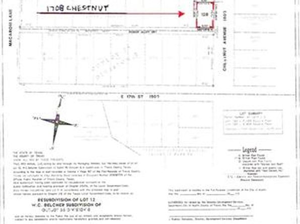 null bed null bath Vacant Land at 1708 Chestnut Ave Austin, TX, 78702 is for sale at 245k - google static map