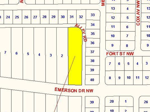 null bed null bath Vacant Land at 215 Emerson Dr NW Palm Bay, FL, 32907 is for sale at 125k - google static map