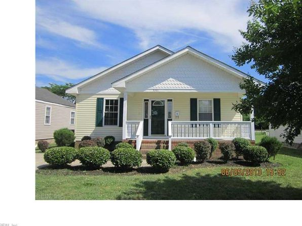 3 bed 2 bath Single Family at 3201 Mascott St Portsmouth, VA, 23707 is for sale at 130k - 1 of 15