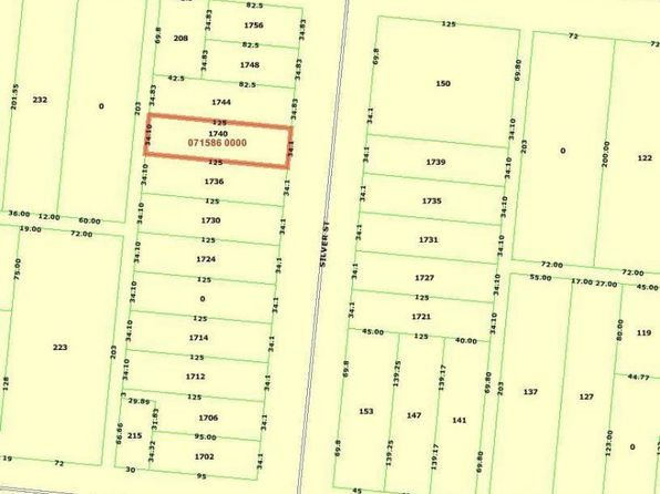 4 bed null bath Vacant Land at 1740 Silver St Jacksonville, FL, 32206 is for sale at 30k - google static map