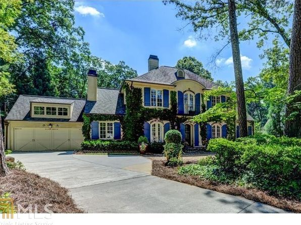5 bed 5 bath Single Family at 4655 Millbrook Dr NW Atlanta, GA, 30327 is for sale at 1.70m - 1 of 32