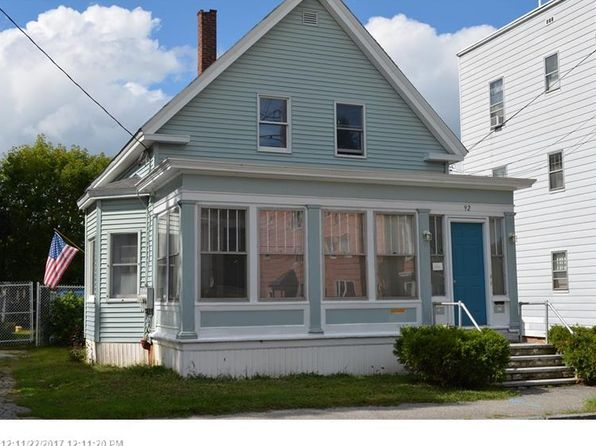 4 bed 3 bath Multi Family at 92 Wood St Lewiston, ME, 04240 is for sale at 110k - google static map