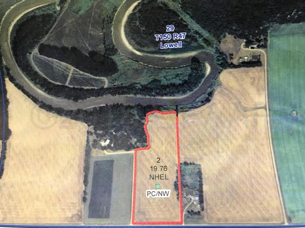 null bed null bath Vacant Land at  Xxx 270th St SW Crookston, MN, 56716 is for sale at 110k - google static map