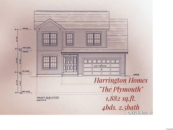 4 bed 3 bath Single Family at  Forest Vw Manlius, NY, 13116 is for sale at 308k - google static map
