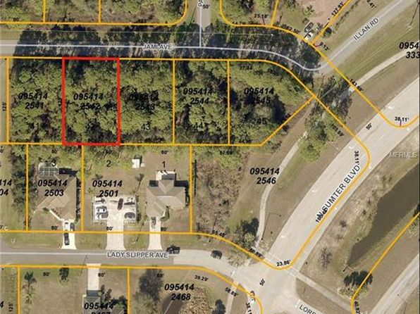 null bed null bath Vacant Land at  JAMI AVE NORTH PORT, FL, 34291 is for sale at 15k - google static map