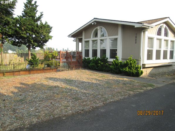 3 bed 2 bath Mobile / Manufactured at 1800 Woodland Ave Woodburn, OR, 97071 is for sale at 280k - 1 of 32