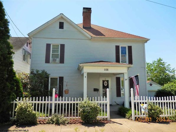 4 bed 2 bath Single Family at 105 Waldeck St Clarksburg, WV, 26301 is for sale at 106k - 1 of 20