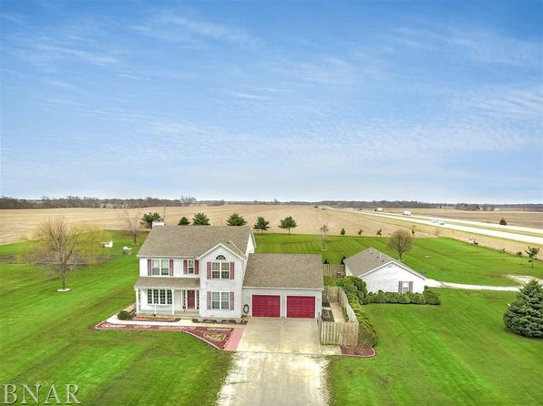 5 bed 4 bath Single Family at 14057 E 2400 North Rd Hudson, IL, 61748 is for sale at 270k - 1 of 30