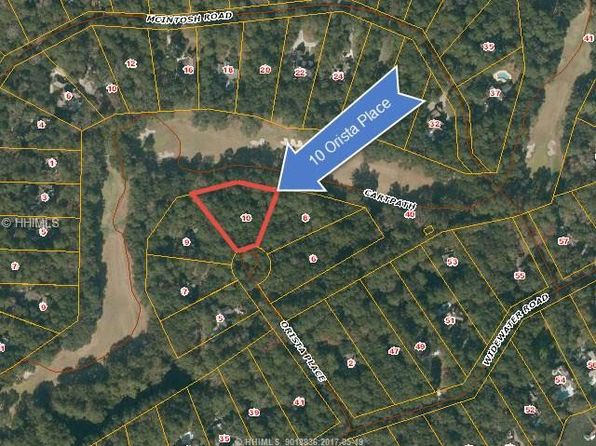 null bed null bath Vacant Land at 10 ORISTA PL HILTON HEAD ISLAND, SC, 29926 is for sale at 199k - 1 of 3