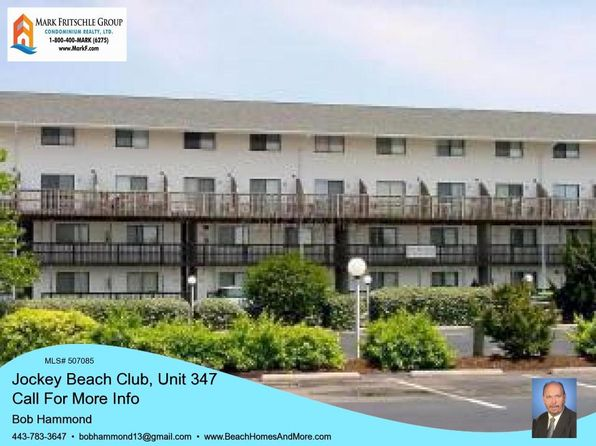 1 bed 1 bath Condo at 105 123rd St Ocean City, MD, 21842 is for sale at 125k - 1 of 13