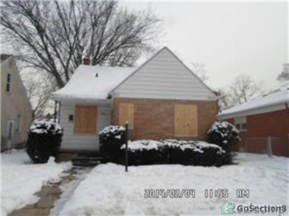 3 bed 1 bath Single Family at 8266 Warwick St Detroit, MI, 48228 is for sale at 20k - 1 of 2