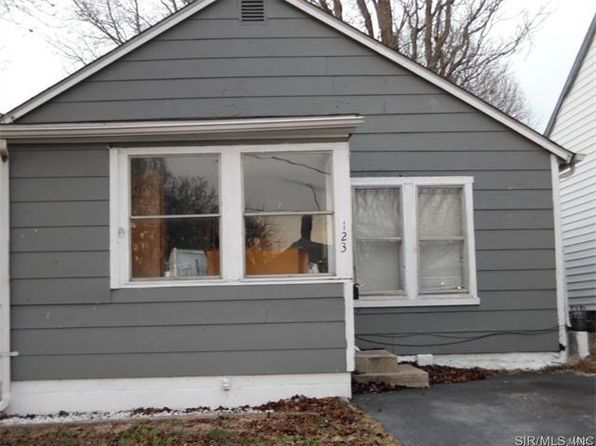 2 bed 1 bath Single Family at 123 W Date St Hartford, IL, 62048 is for sale at 19k - google static map