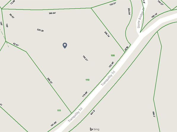 null bed null bath Vacant Land at  Tranquility Trl Dandridge, TN, 37725 is for sale at 0 - 1 of 17