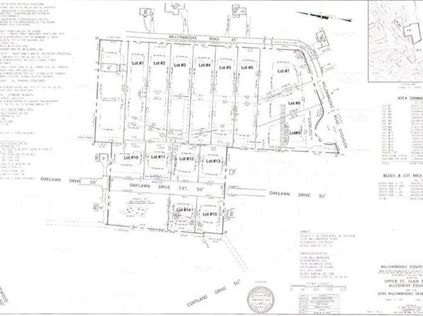 null bed null bath Vacant Land at  Lot # 9 Willowbrooke Upper St. Clair, PA, 15241 is for sale at 175k - google static map