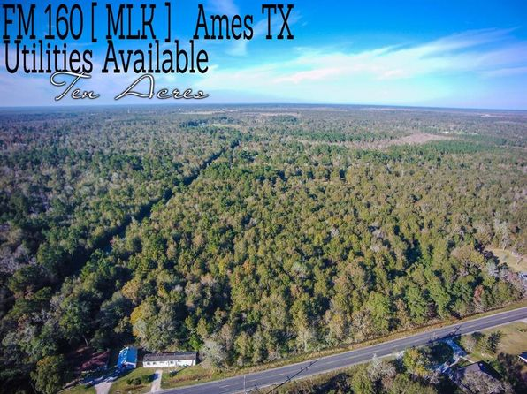 null bed null bath Vacant Land at 10-AC Fm 160 and County Road 158 Ames, TX, 77575 is for sale at 100k - 1 of 11