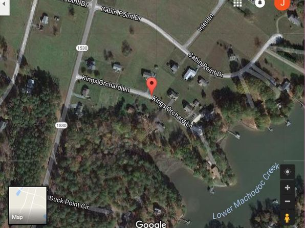 null bed null bath Vacant Land at  Royal Way Cabin Point, VA, 22520 is for sale at 12k - google static map