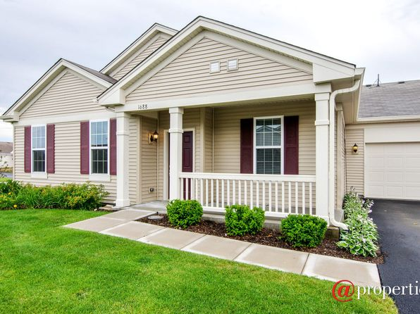 2 bed 2 bath Condo at 1688 Hannah Ln Pingree Grove, IL, 60140 is for sale at 195k - 1 of 10