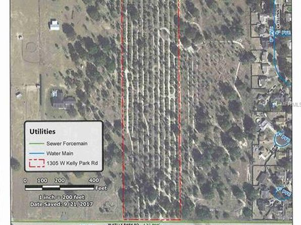 null bed null bath Vacant Land at 1305 W Kelly Park Rd Apopka, FL, 32712 is for sale at 299k - google static map