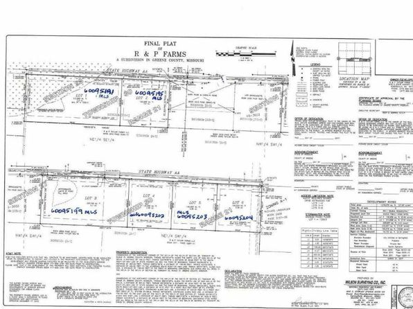 null bed null bath Vacant Land at 0 N State Hwy Aa Springfield, MO, 65803 is for sale at 79k - google static map
