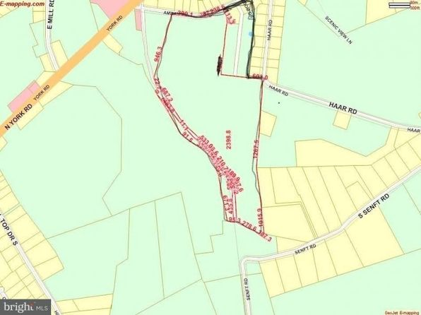 null bed null bath Vacant Land at  AMBAU RD SPRING GROVE, PA, 17362 is for sale at 490k - google static map