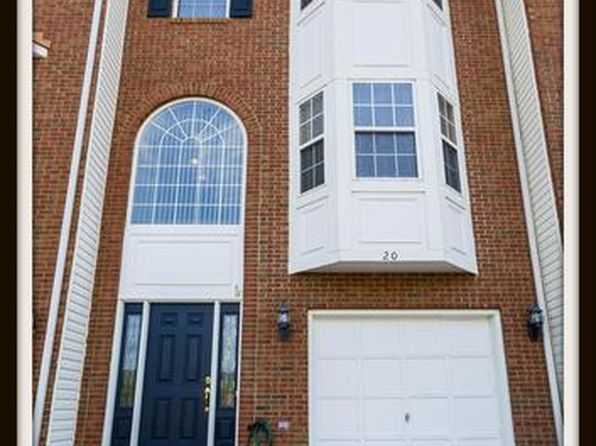 3 bed 4 bath Townhouse at 20 Townes Pl Fredericksburg, VA, 22405 is for sale at 225k - 1 of 30