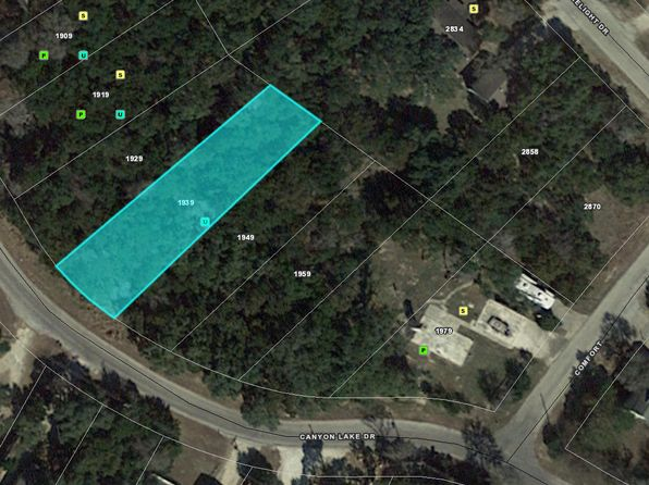 null bed null bath Vacant Land at 1939 CANYON LAKE DR CANYON LAKE, TX, 78133 is for sale at 28k - 1 of 4