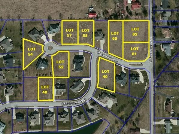 null bed null bath Vacant Land at 7641 Brownstone Ct Greenfield, IN, 46140 is for sale at 39k - google static map