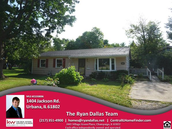 3 bed 1.5 bath Single Family at 1404 Jackson Rd Urbana, IL, 61802 is for sale at 73k - 1 of 43