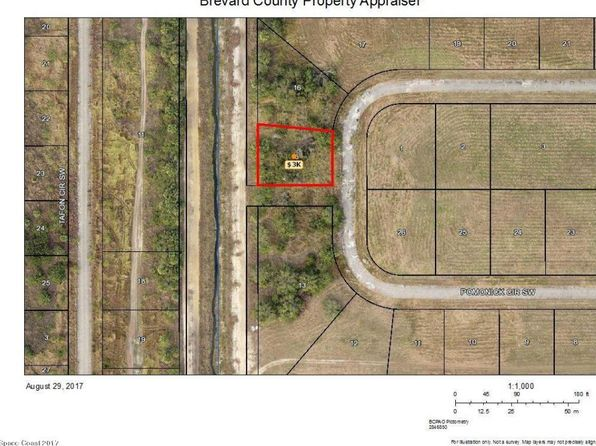 null bed null bath Vacant Land at 1097 SW POMONICK CIR PALM BAY, FL, 32908 is for sale at 5k - google static map