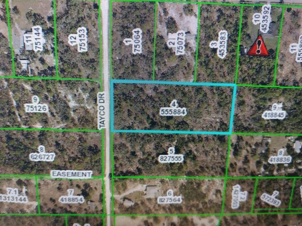 null bed null bath Vacant Land at  Tayco Dr Brooksville, FL, 34614 is for sale at 25k - google static map