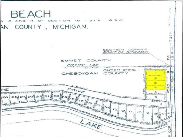 null bed null bath Vacant Land at O Van Rd Levering, MI, 49755 is for sale at 25k - google static map