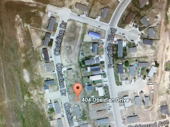 null bed null bath Vacant Land at 404 Obsidian Dr Gillette, WY, 82716 is for sale at 30k - google static map