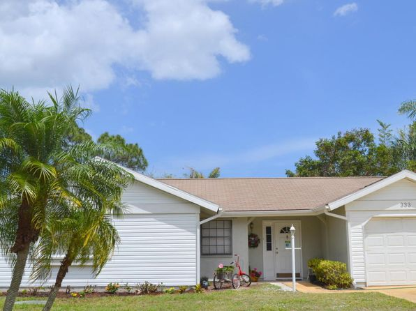 3 bed 2 bath Single Family at 333 NW Hogan St Port Saint Lucie, FL, 34983 is for sale at 170k - 1 of 26