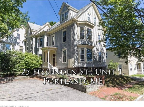 2 bed 1 bath Condo at 25 Fessenden St Portland, ME, 04103 is for sale at 225k - 1 of 25