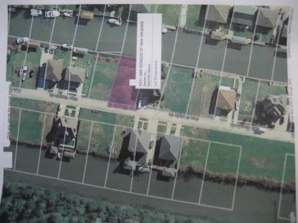 null bed null bath Vacant Land at 4371 San Giorgio St New Orleans, LA, 70129 is for sale at 60k - google static map