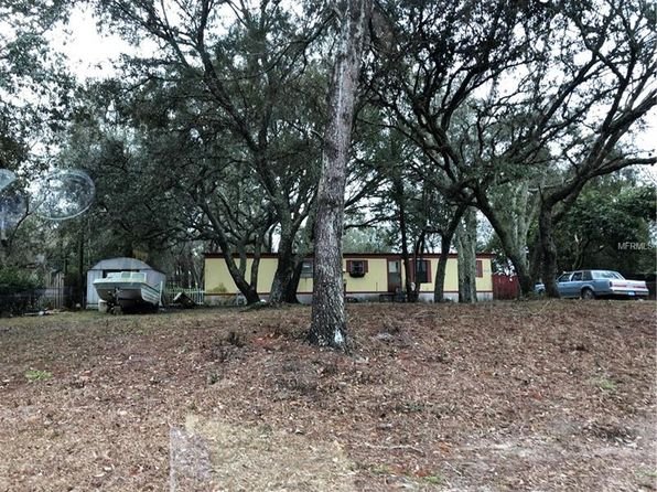 2 bed 1 bath Mobile / Manufactured at 8379 EVERGREEN AVE BROOKSVILLE, FL, 34613 is for sale at 22k - google static map