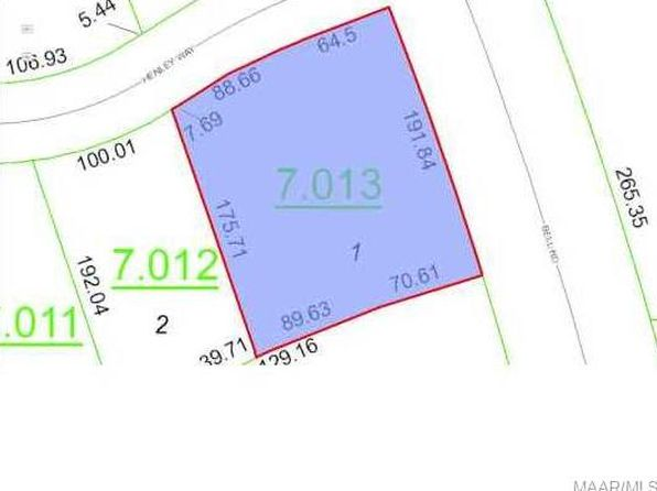 null bed null bath Vacant Land at 6276 Henley Way Montgomery, AL, 36117 is for sale at 58k - google static map