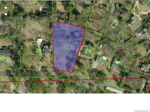 null bed null bath Vacant Land at 2167 Campbell Rd Montgomery, AL, 36111 is for sale at 90k - 1 of 2