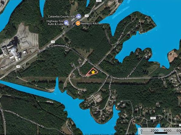 null bed null bath Vacant Land at 8874 Elina Ln Terrell, NC, 28682 is for sale at 39k - google static map